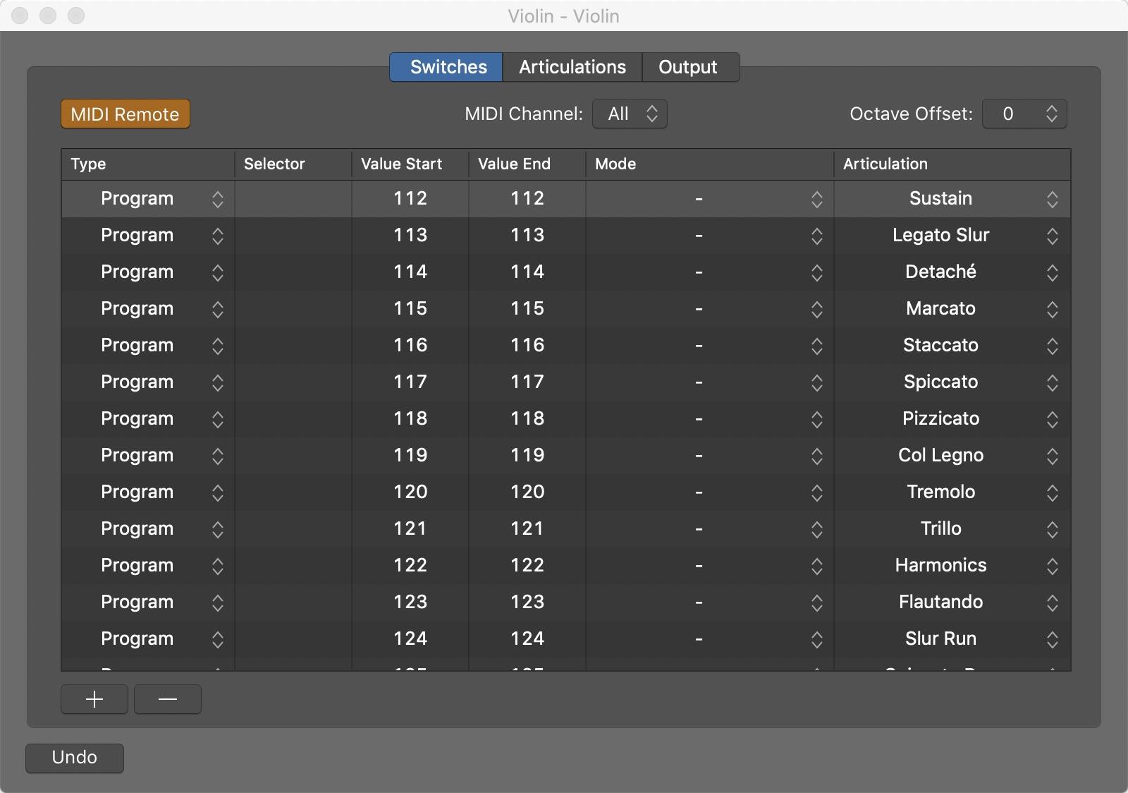 Utilizzare le Articolazioni in Logic Pro X 2 - BLOG : NEWS - STUDIO XLR San Donato Milanese